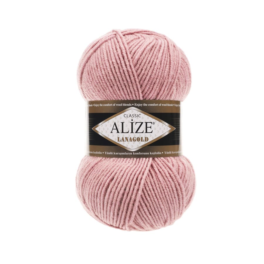 Пряжа LANAGOLD (Alize), цвет 161 пудра