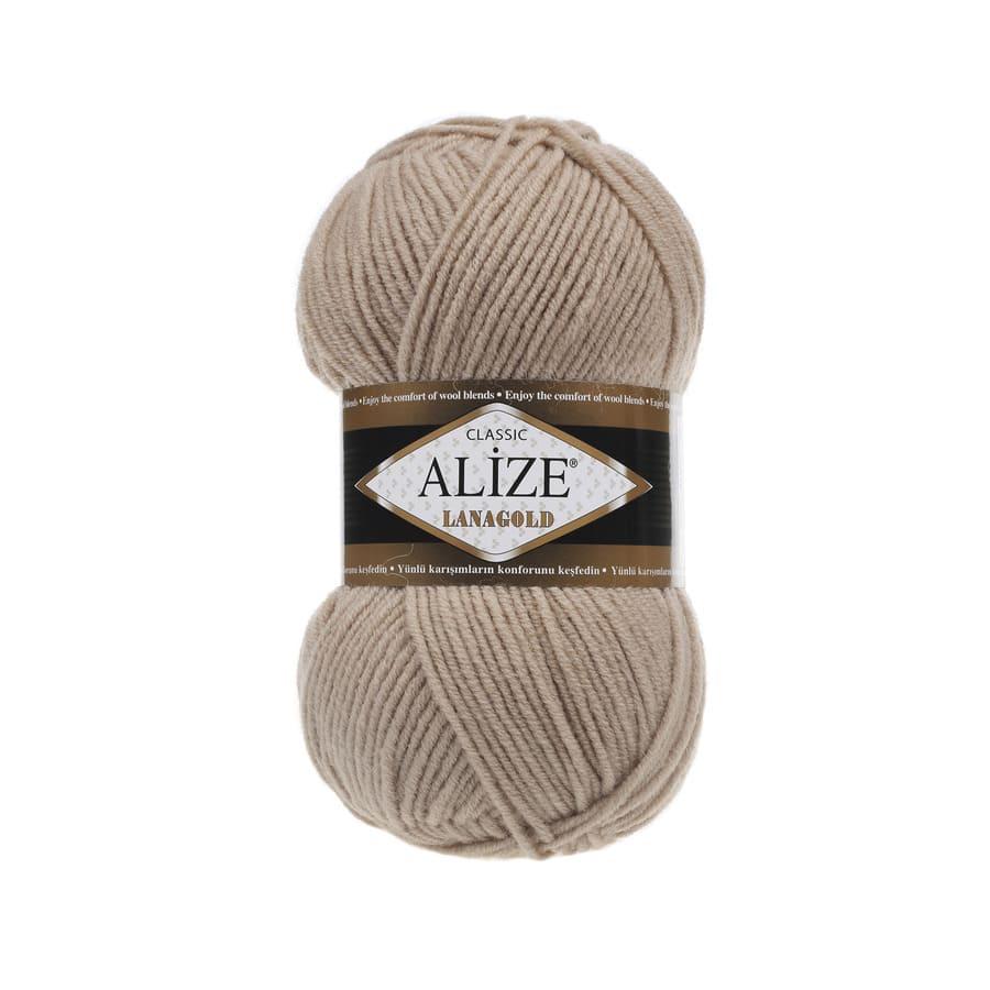 Пряжа LANAGOLD (Alize), цвет 05 бежевый