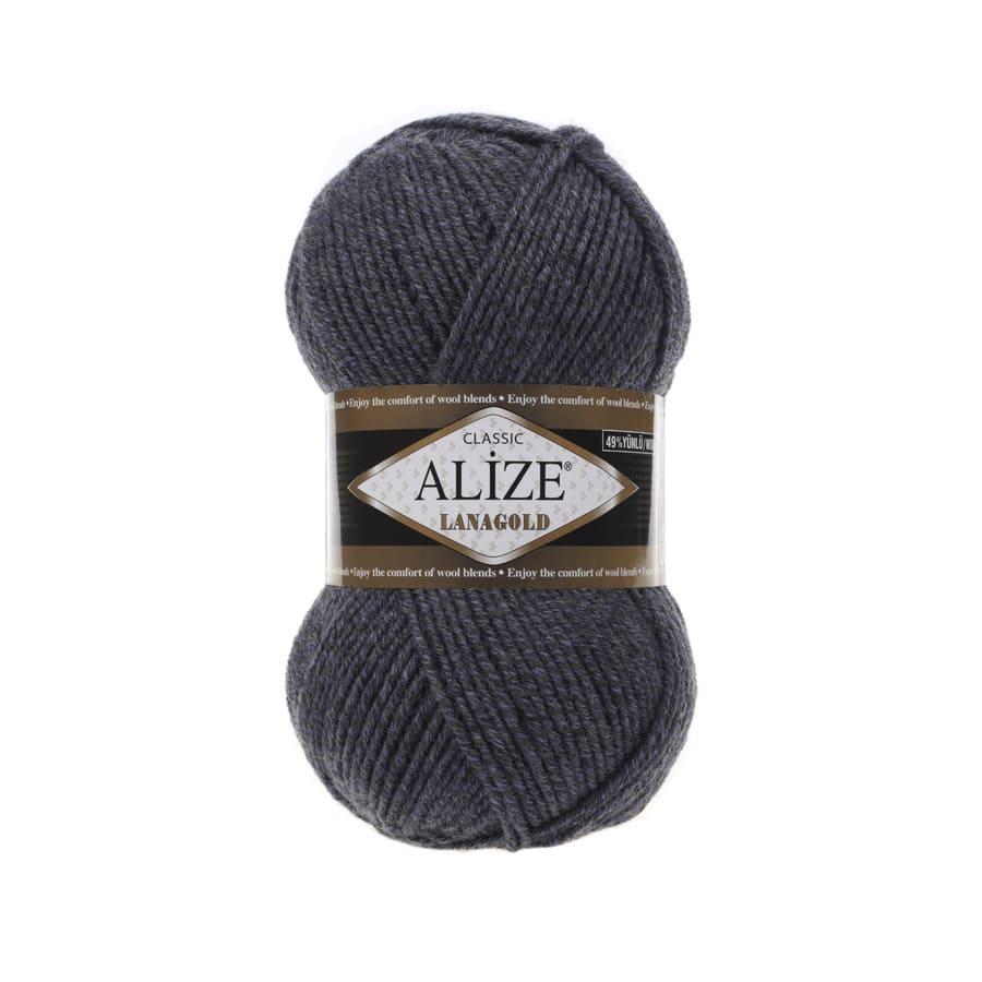 Пряжа LANAGOLD (Alize), цвет DUE 902