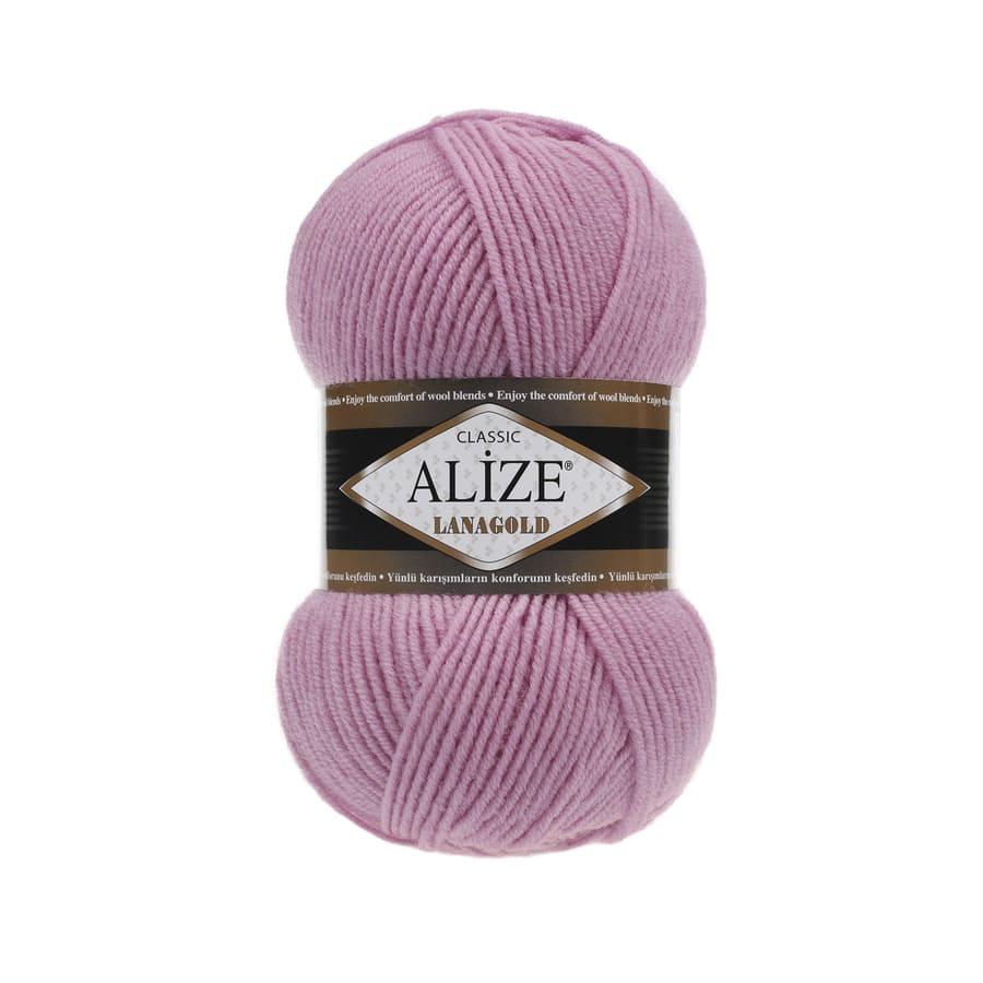 Пряжа LANAGOLD (Alize), цвет 98 розовый