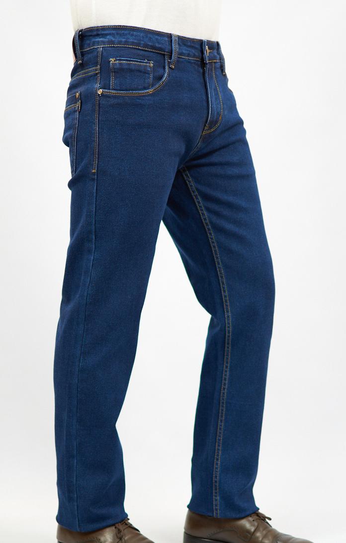 Брюки мужские, джинсы зауженные, утепленные с начесом  (оптом и розница).