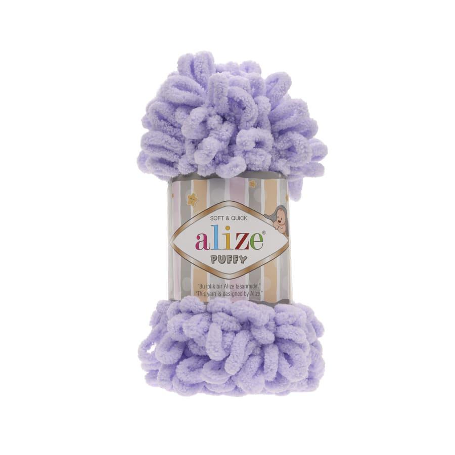 Пряжа PUFFY (Alize), цвет 146 нежная сирень