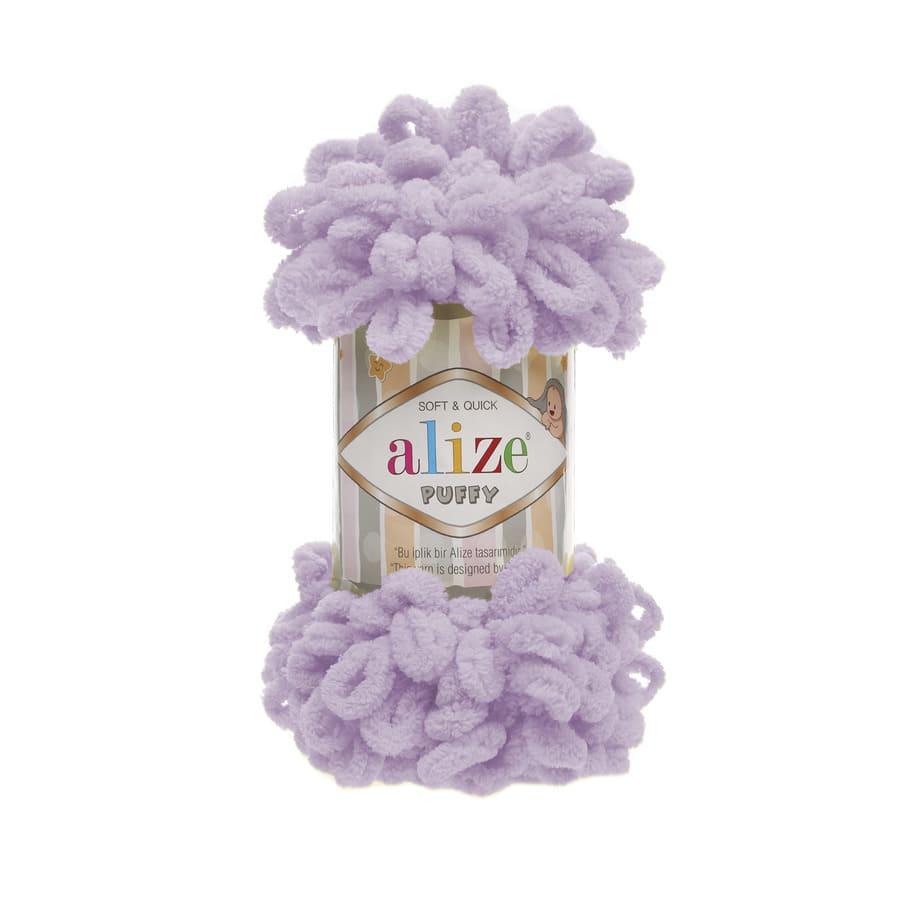 Пряжа PUFFY (Alize), цвет 27 светлая сирень