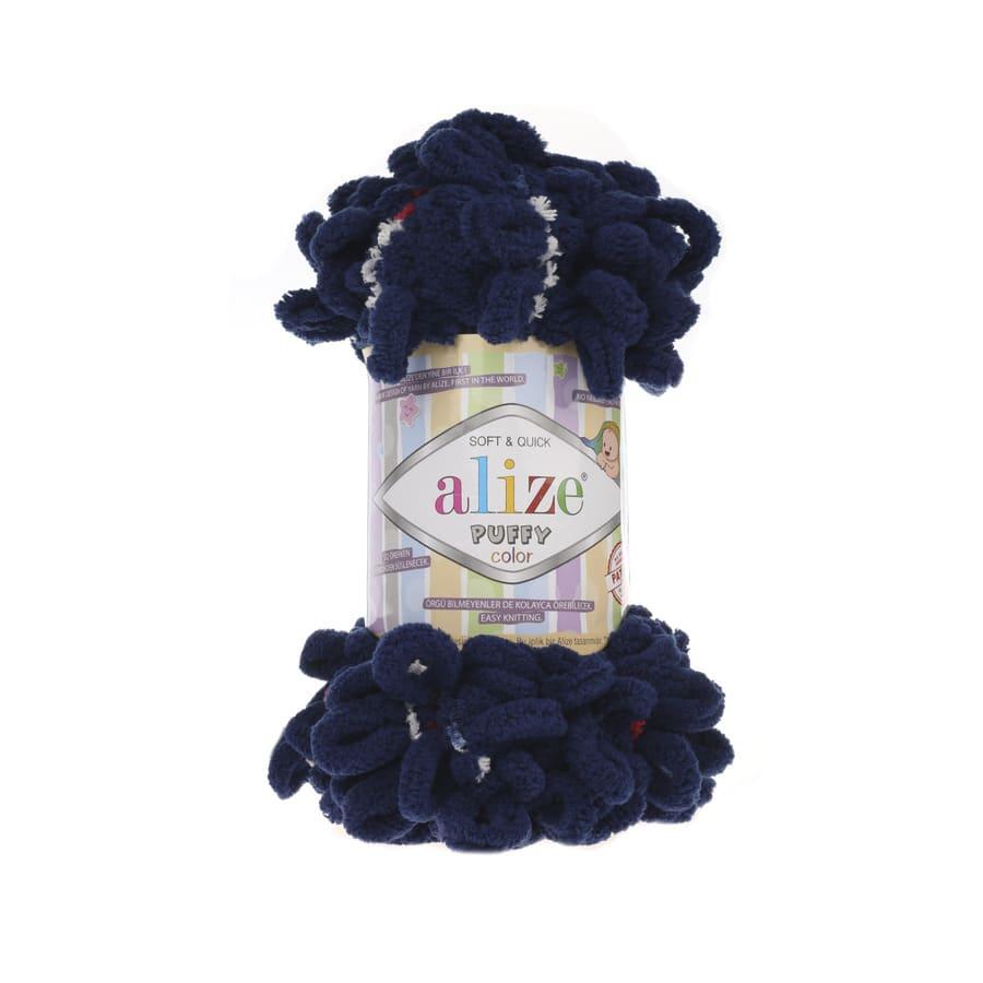 Пряжа PUFFY COLOR(Alize), цвет 5702