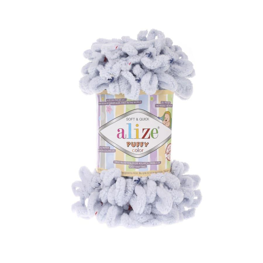 Пряжа PUFFY COLOR(Alize), цвет 5850