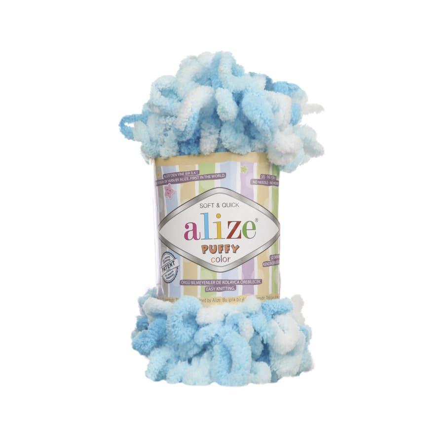 Пряжа PUFFY COLOR(Alize), цвет 5924