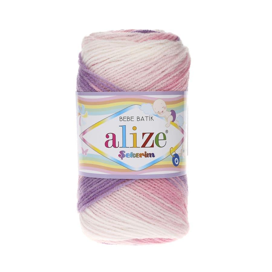 Пряжа Sekerim BEBE Batik ( Alize), цвет 2135