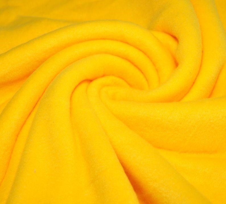 Флис цвет желтый