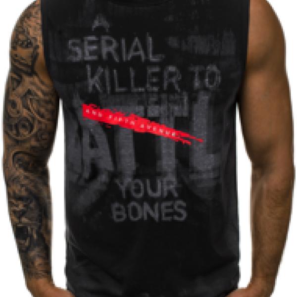 Джемпер мужской ( футболка без рукавов с надписями)