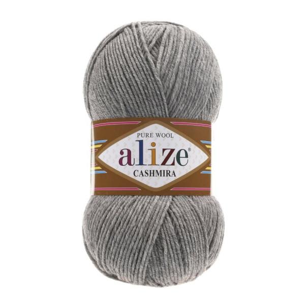 CASHMIRA ALIZE Grei Melang (КАШМИРА АЛИЗЕ) (код цвета 21: серый меланж).