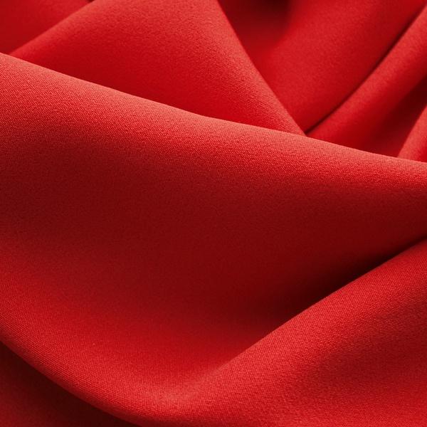 Костюмная ткань Барби (красный)