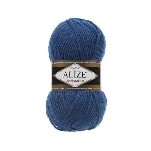 Пряжа LANAGOLD (Alize), цвет 155 темно-бирюзовый