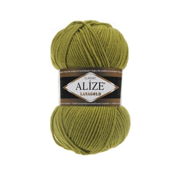 Пряжа LANAGOLD (Alize), цвет 193 фисташки