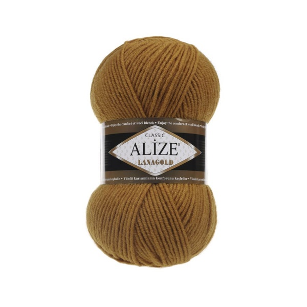 Пряжа LANAGOLD (Alize), цвет 499 беж