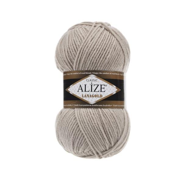 Пряжа LANAGOLD (Alize), цвет 585 камень