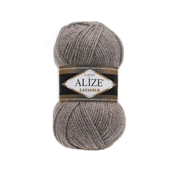 Пряжа LANAGOLD (Alize), цвет DUE 650