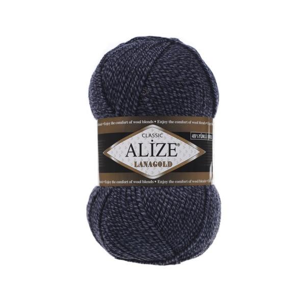 Пряжа LANAGOLD (Alize), цвет DUE 901