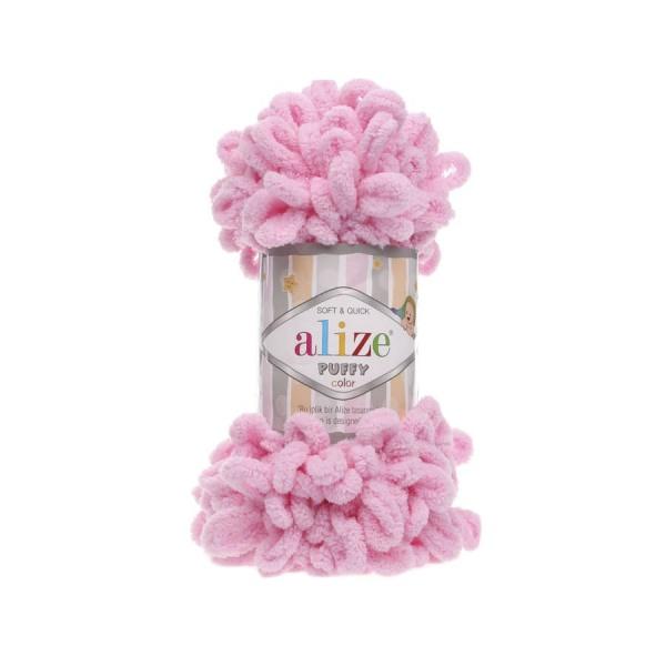 Пряжа PUFFY (Alize), цвет 185 розовый