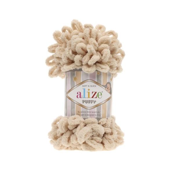 Пряжа PUFFY (Alize), цвет 310 медовый