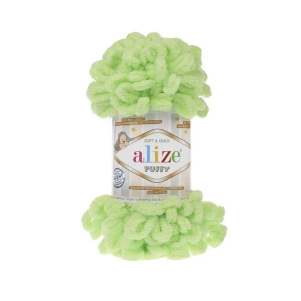 Пряжа PUFFY (Alize), цвет 41 фисташковый