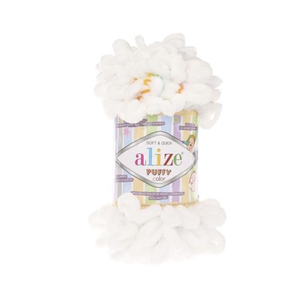 Пряжа PUFFY COLOR(Alize), цвет 5794