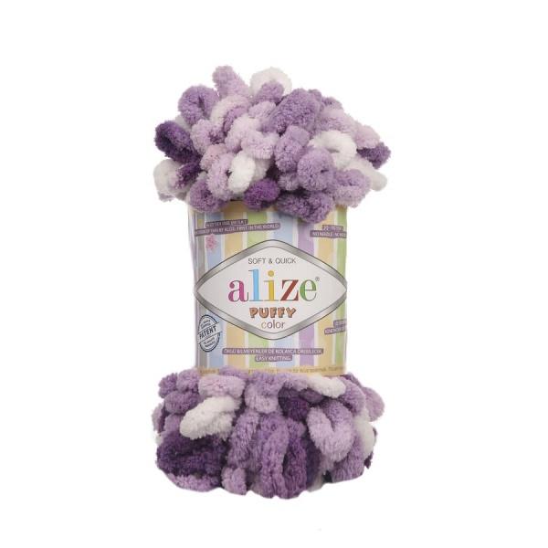 Пряжа PUFFY COLOR(Alize), цвет 5923